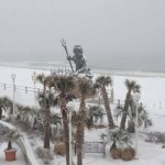 Winter Snow Va Beach
